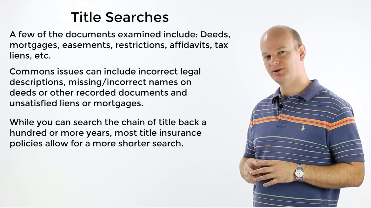 Us Title Search